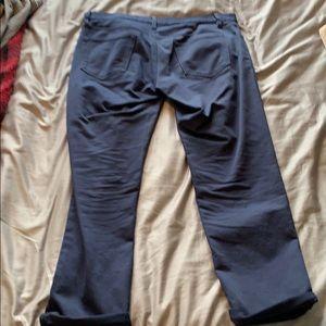 Banana Republic Pants - Banana Republic Navy Traveler Pants Slim Fit